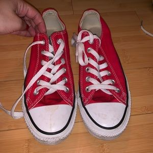 Red converse!